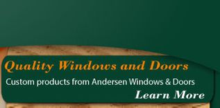 Custom products from Andersen Windows & Doors