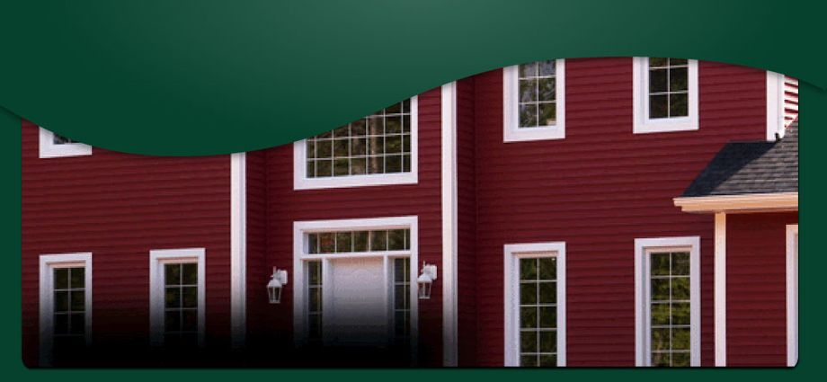 Sunserve Windows | Red home with nice windows