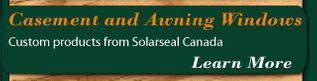 Custom products from Solarseal Canada